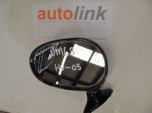 Door Mirror, Mazda MX-5 mk1, l/h, green, HU, left hand, USED 05